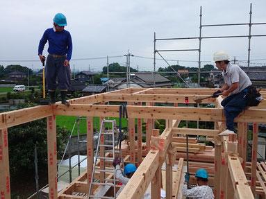 熟知した職人が建てる家