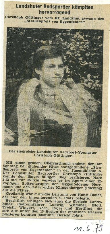 Quelle: Landshuter Zeitung 11.06.1979