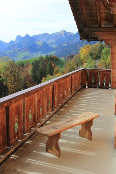 Abbildung 8: Balkon mit einmaliger Aussicht