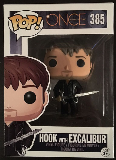 FunkoPOP! Hook mit Excalibur (Once upon a Time)