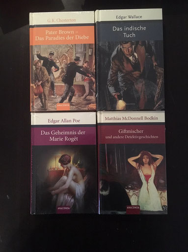 1 von 4 verschiedenen Krimi Klassikern, Anaconda Verlag