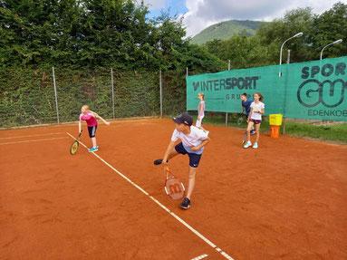 Abschlussfoto Tenniscamp 2017