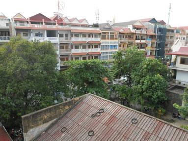 Blick aus dem Hotel ©Fabi