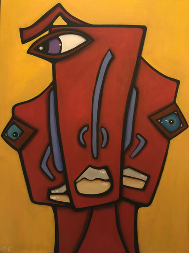 INVESTIGATOR 60 x 80 Acryl   Art Gallery 24