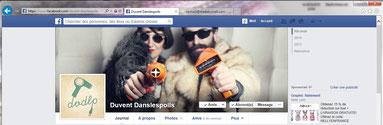"""profil facebook de """" Du vents dans les poils """""""