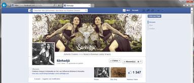 page facebook de Sanhadja