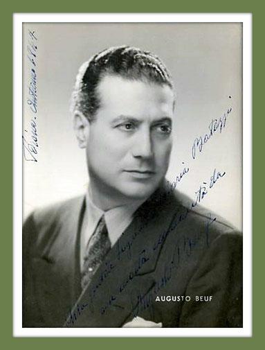 Augusto Beuf - baritono