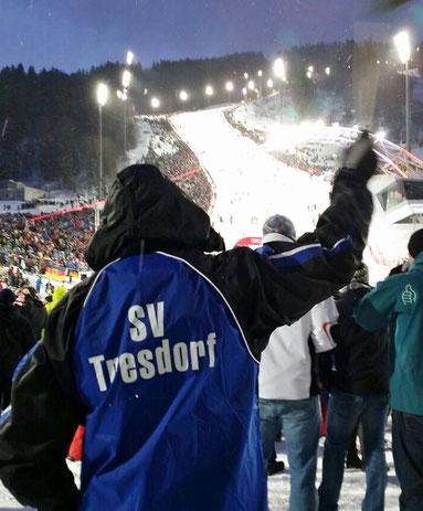 Weltcup - nightrace - in Schladming im Jänner 2015: Wir waren mit dabei ...