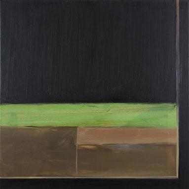 o. T. (4-Jahreszeiten rechts, 204) 1995 Ölfarbe 100,5 x 100,5 cm
