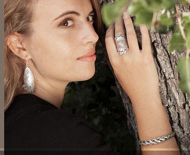 Bijoux argent massif faits main