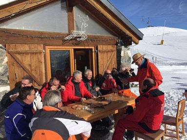Sortie de ski des Seniors du Golf-Club Crans-sur-Sierre
