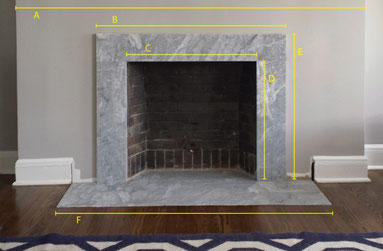 How to Measure for a Custom Fireplace Mantel