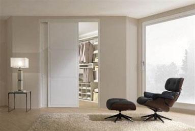 cuisine intérieur design toulouse dressing secret caché blanc derrière porte