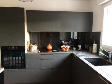cuisine intérieur design toulouse cuisine shroeder gris béton avec dekton tendance moderne et contemporaine