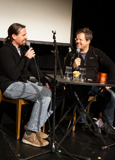 Filmgespräch im Anschluss: Michael Gerber von Birdlife.ch und Edwin Moser von Nebenrolle Natur