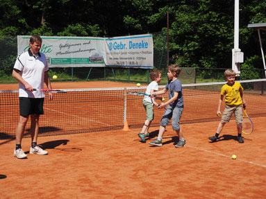 Familien Tennistag in Edemissen Schnuppertennis