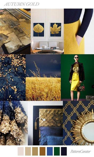Moodboard für mehr Klarheit/ Bildcredit: Pattern Curator via Pinterest