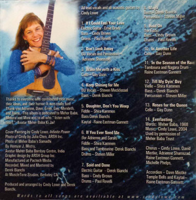 CD : INSIDE COVER