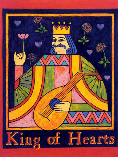 """King of Hearts"" by Maggie Bevan"