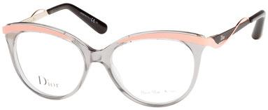 Occhiali da vista Christian Dior 3279. Colore: 8LE GRY CRL grigio. Calibro 51-16. Materiale: plastica. Forma: rotondo/ovale.