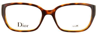 Occhiali da vista Christian Dior 3236. Colore: DJS HAVAN MT havana. Calibro 52-17. Materiale: plastica. Forma: squadrato.