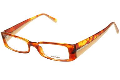 Occhiali da vista Prada donna 16GV 78S1O1. Colore: nero. Forma: squadrato. Materiale: plastica.