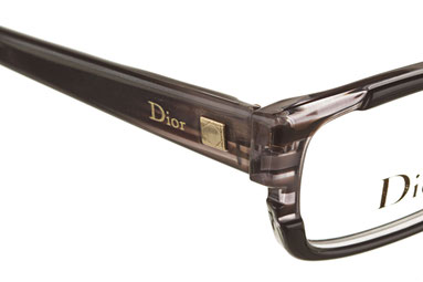 Occhiali da vista Christian Dior 3192. Colore: I5A BLK GRY grigio. Calibro 52-15. Materiale: plastica. Forma: squadrato.