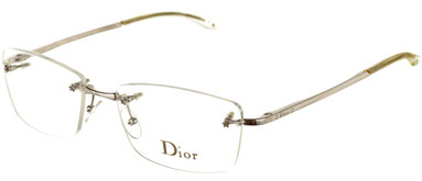 Occhiali da vista Christian Dior donna. Modello: 3613/n glasant. Colore: 70B argento. Calibro 53-16. Prezzo € 201,00. Spedizione gratis. Materiale: metallo. Forma: squadrata.