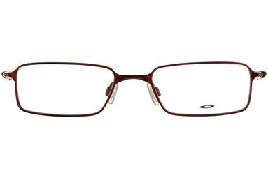 occhiali vista uomo Oakley 3098 Mono Shock 04 Bordeaux metallo