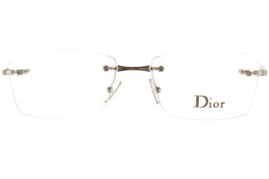 Occhiali da vista Christian Dior 3613/n. Colore: 6Z3 argento. Calibro 53-16. Materiale: metallo. Forma: rettangolare.