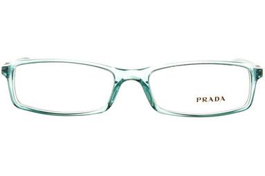 occhiali vista prada donna 07GV 6AT1O1 Celeste squadrato plastica