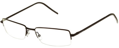 Occhiali da vista Dior Homme 0104. Colore: 003 nero opaco. Calibro 54-17. Materiale: metallo. Forma: rettangolare.