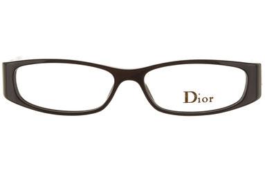 Occhiali da vista Christian Dior 3097. Colore: 807 nero. Calibro 53-14. Materiale: plastica. Forma: rettangolare.