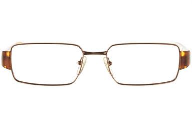 occhiali vista prada uomo 50HV 8AE1O1 Bronzo rame squadrato metallo