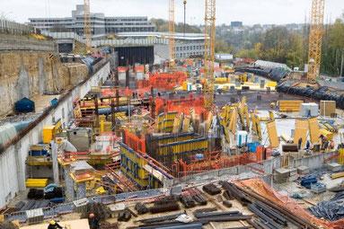 Chantier, Bank European Investissement - Luxembourg