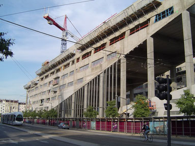 Chantier, Hôtel de Région Rhône-Alpes