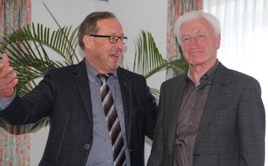 Karl Schwab ist ebenfalls 50 Jahre Mitglied