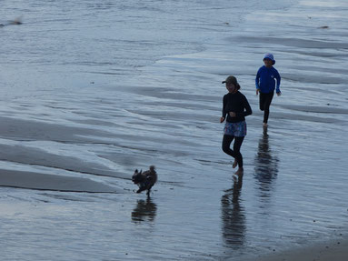 HR~も海で遊べてよかったね♪