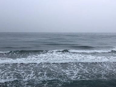 今日も潮前後はこんな感じでボヨついていましたが少しは乗れそうでした。