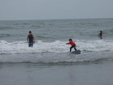 今年初サーフィンだった?