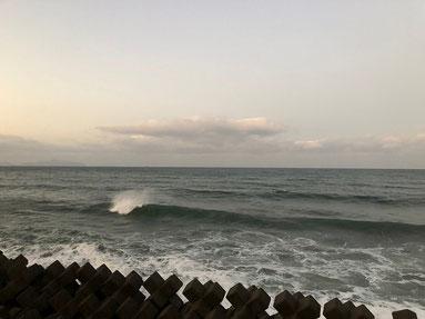 朝一の江口。潮が多かったので、北上。