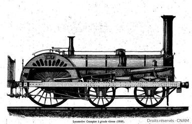 Train locomotive Chemin de fer du Midi Rivière-Basse Gers Gascogne