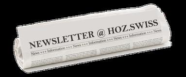 NEWSLETTER | gut informiet bei HOZ Hochseezentrum | www.hoz.swiss