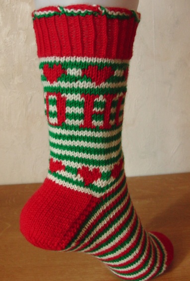 Christmas Socks, Knit Now Issue 41