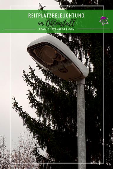 Reitplatzbeleuchtung Flutlichtanlage