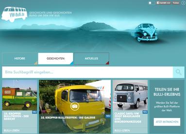 DIE Homepage rund um den VW Bus. Bullitreffentermine findest Du hier ebenso wie Reiseberichte in alten Bullis und alles zu ganz neuen T6 bzw. T6.1-Bussen.