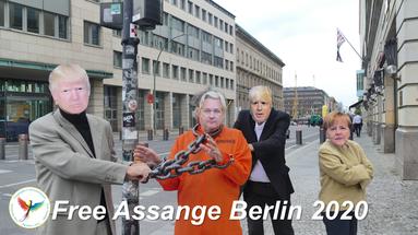 Free Assange Berlin 2020