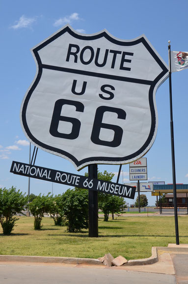 Route 66-Museum in Elk City
