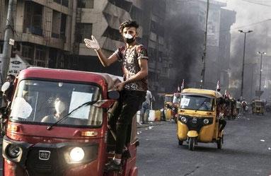 Tuktuk - taxien er blevet symbolet på irakernes kamp for frihed
