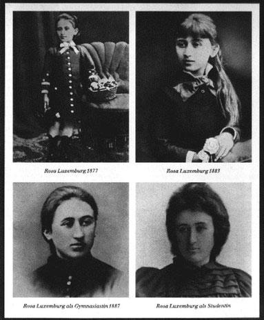 Rosa Luxemburg som ung